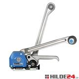 Stahlband-Umreifungsgerät für Breite von 13 bis 19 mm, hülsenlos | HILDE24 GmbH