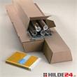 Trapez Versandhülsen aus Wellpappe - breite Ausführung - HILDE24 Verpackungen