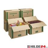 Umzugs-Transportkarton, 1-wellig, 650 x 350 x 370 mm   HILDE24 GmbH