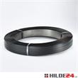 Verpackungsstahlband schwarz lackiert Packenwicklung | HILDE24 GmbH