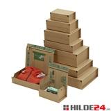 Versandbox mit 7 Selbstklebeverschlüsse - HILDE24 Verpackungen