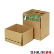 Versandkarton Premium - mit 2-fach Selbstklebeverschluss, Aufreißfaden und Automatikboden - HILDE24 Verpackungen