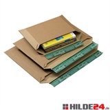 Versandtaschen aus Wellpappe, Querbefüllung  | HILDE24 GmbH