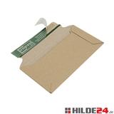 Versandtaschen aus offener Wellpappe, barun | HILDE24 GmbH