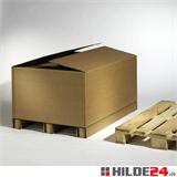 Wellpapp-Container,1180 x 780 x 760 mm mit 3 Zusatzrillungen | HILDE24 GmbH