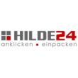 bedrucktes Weihnachtsklebeband, dunkel blau mit silbernern Druck, 50 mm x 60 lfm, Acrylat-Kleber, - HILDE24 Verpackungen