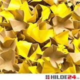 gelbe Papier Verpackungschips Decofill - HILDE 24 Verpackungen