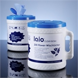 laio® CLEAN Power-Wischtücher, 200 Stück im handlichen Spender