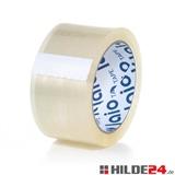 laio® TAPE 554 Klebeband, transparent, 50 mm x 75 lfm, mehr Laufmeter pro Rolle