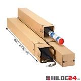 longBox TELESKOP - teleskopierbare Versandhülse - HILDE24 Verpackungen
