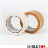 rückstandsfrei entfernbares PVC Klebeband, weiß, 50 mm x 66 lfm | HILDE24 GmbH