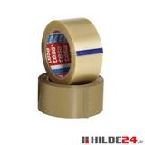 tesapack® 4100 braun und transparent, 50 mm x 66 lfm, leicht und leise abrollend